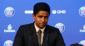 Presidente do PSG se empolga com classificação. EFE