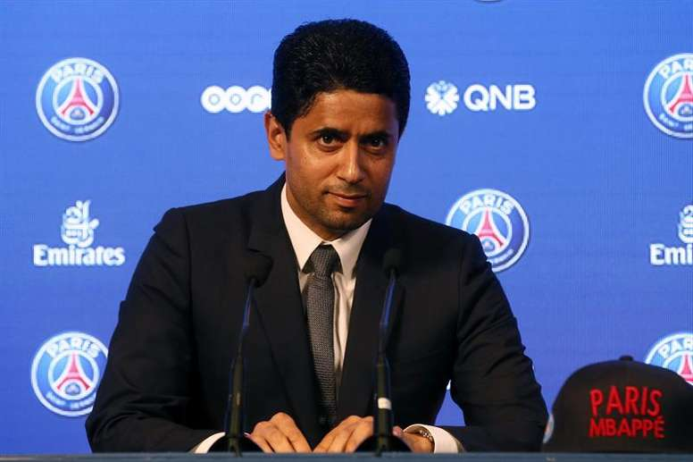 Nasser Al-Khelaifi is pleased with the format. EFE