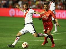 El centrocampista no pudo evitar el descenso. EFE