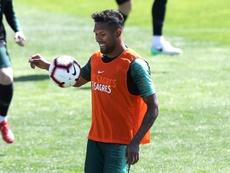 Dyego Sousa, a lo Diego Costa, eligió jugar con Portugal y no con Brasil. EFE
