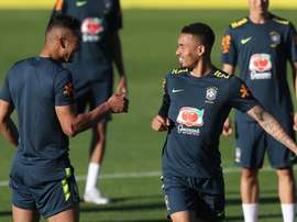 Seleção Brasileira já tem time e tática definidos. EFE