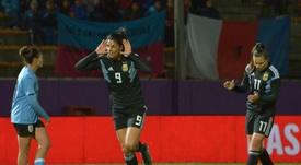Argentina pasó por encima de Uruguay. EFE