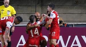 Argentinos Juniors sumó los primeros tres puntos en la Superliga. EFE/Archivo