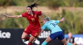 Silvia Meseguer espera que 'la Roja' haga un buen Mundial. EFE