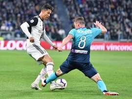 Prováveis escalações de Juventus e Atalanta. EFE