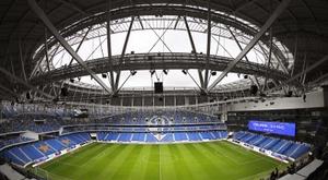 El estadio Lev Yashin abre por fin sus puertas. EFE