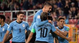 Uruguay ya espera rival en octavos. EFE