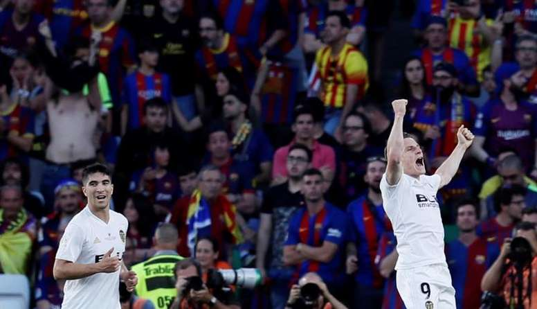 Il Valencia vince la Coppa del Re. EFE