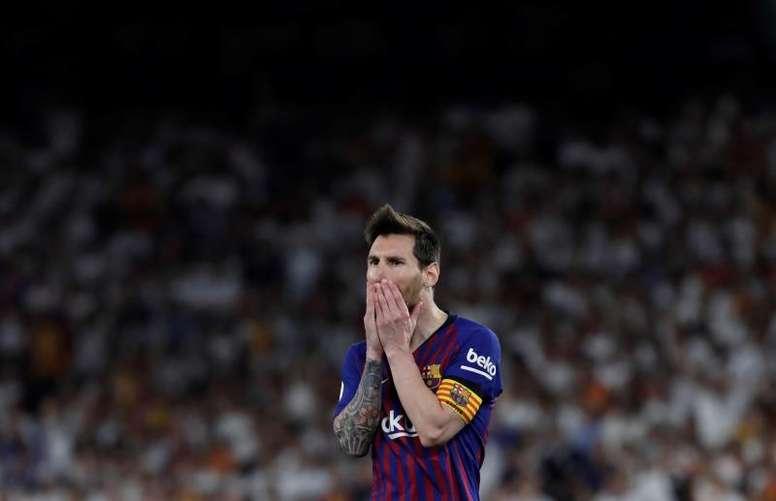 Tout va bien entre Messi et son club. EFE