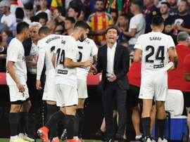El Valencia perdió ante el Mónaco. EFE