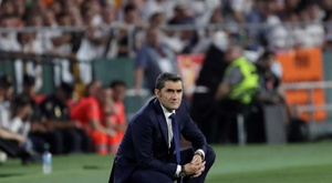 Valverde n'est pas aussi mauvais qu'on le pense. EFE