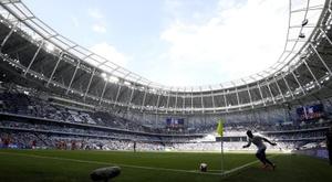 El Dinamo de Moscú estrenó su nuevo y flamante estadio. EFE/EPA