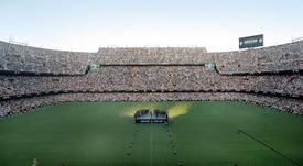 Valencia podría ser sede del Mundial 2030. EFE