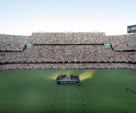 Mestalla could well host games at the 2030 World Cup. EFE
