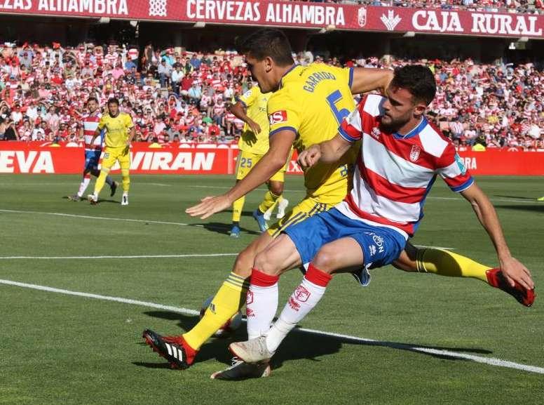 Garrido no estará ante el Málaga. EFE
