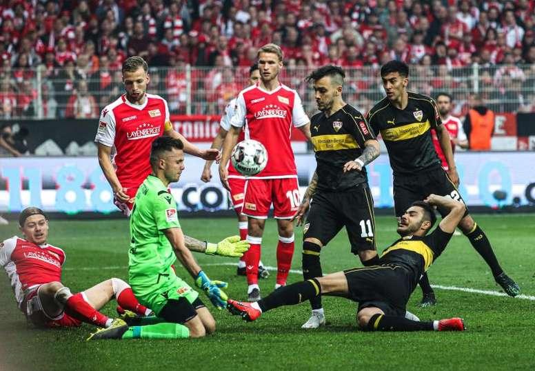 El Union Berlin logró su primer ascenso a la Bundesliga. AFP