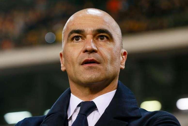 Roberto Martínez negó algún contacto con el Barcelona. EFE
