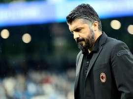 Gattuso pourrait entraîner en Russie. EFE