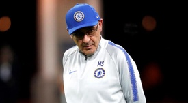Sarri has reportedly returned to Italy for personal reasons. EFE