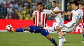 Bruno Valdez, desconvocado por Paraguay. EFE