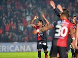 Colón estará entre los cuatro mejores de la CONMEBOL Sudamericana. EFE/Archivo