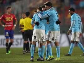 Sporting Cristal pasó la eliminatoria con un 6-0 global sobre su rival. EFE