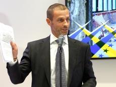 No serán excluidos de las competiciones de clubes de la UEFA. EFE/Archivo