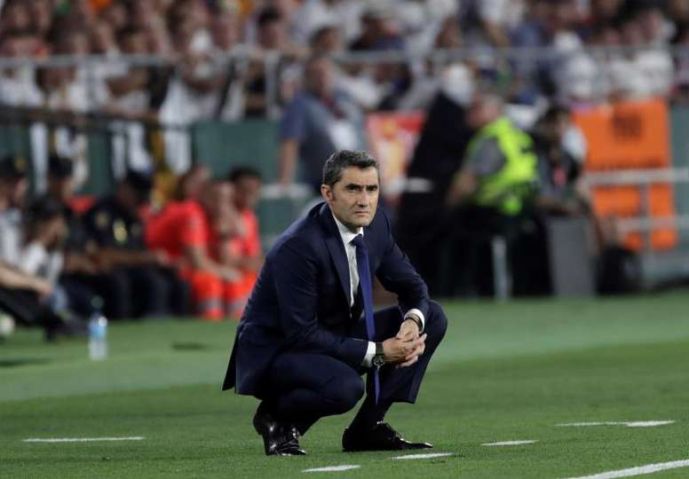 Valverde est confirmé encore une fois par la direction. EFE