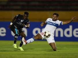Independiente se llevó un resultado muy favorable de la ida. EFE/Archivo