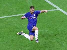 Os golos de Hazard que fazem o madridismo sonhar. EFE
