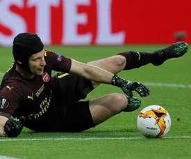 O adeus ao capacete mais famoso do futebol.EFE