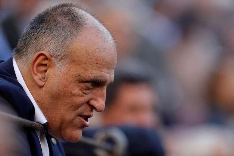 El presidente de LaLiga, contra la nueva competición. EFE