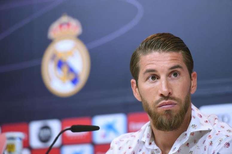 Sergio Ramos confirma que seguirá en el Madrid. EFE