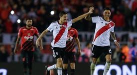 Las reacciones de los campeones: Ponzio, Pinola, Gallardo... EFE