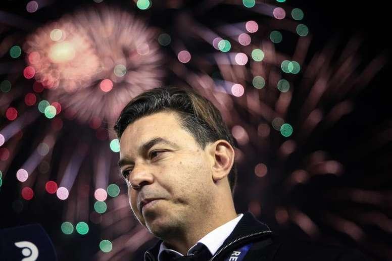 Marcelo Gallardo, ¿y una posible renovación con River? EFE