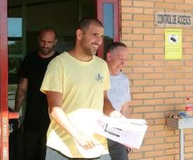 Aranda's bet apparently included Getafe to beat Villarreal. EFE