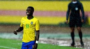 Vinicius a fait ses débuts avec le Brésil. EFE