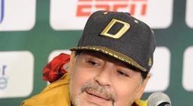 Maradona dejó su puesto de entrenador en Dorados. EFE
