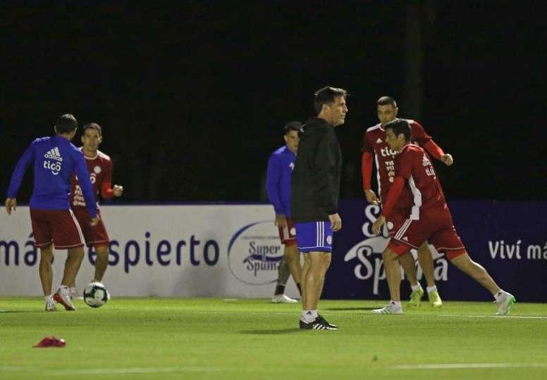 Análisis de Paraguay para la Copa América 2019. EFE