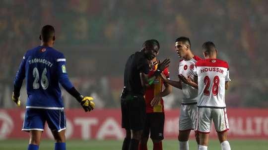 Le Wydad Casablanca va faire appel au TAS pour le scandale de la finale. EFE/EPA