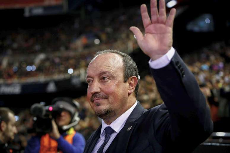Benítez will leave Newcastle this summer. EFE