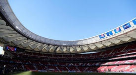 Atletico will ask to host the Champions League final at the Wanda. EFE