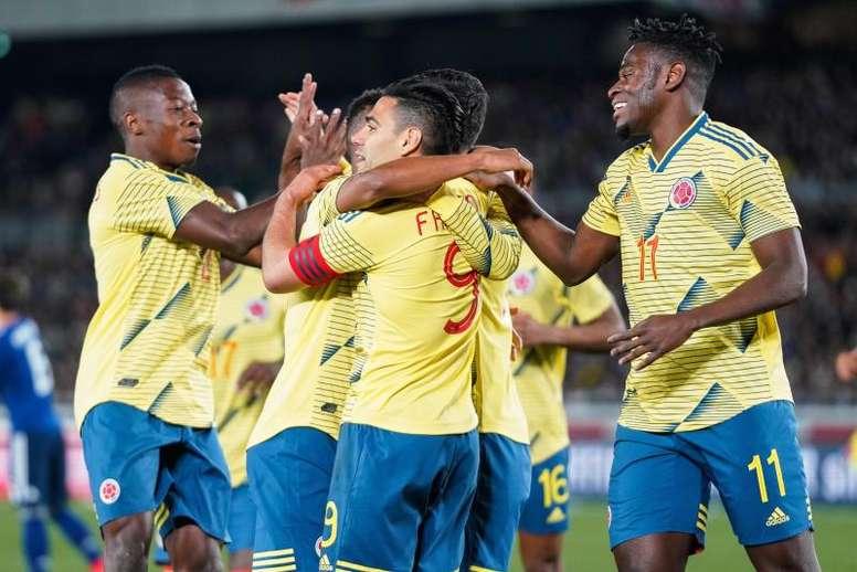 Falcao ve a Colombia preparada para luchar por el título. EFE/Archivo