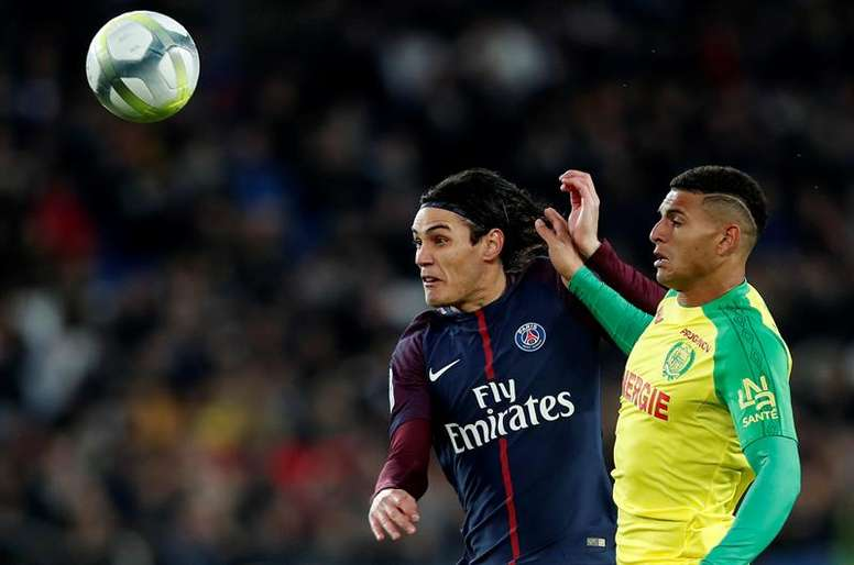 Les compos probables du match de Ligue 1 entre le PSG et Nantes. . EFE/Archivo