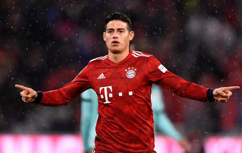 James Rodriguez could move to Napoli. EFE/Archivo