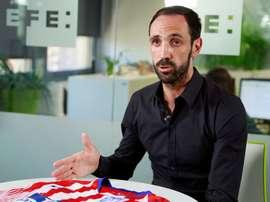 Juanfran passe un message à ceux qui restent à l'Atlético de Madrid. EFE