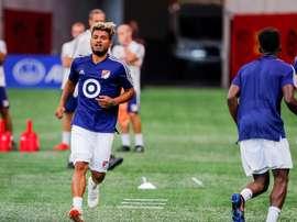 Josef Martínez, jugador de la semana en la MLS. EFE