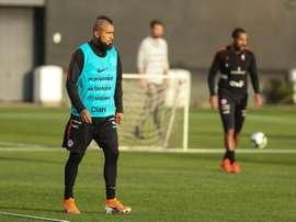 Vidall acredita em boa forma de Sánchez para a Copa América. EFE