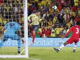 Atlético want James Rodríguez this summer. EFE