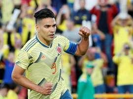 Falcao rêve de jouer au Millonarios. EFE